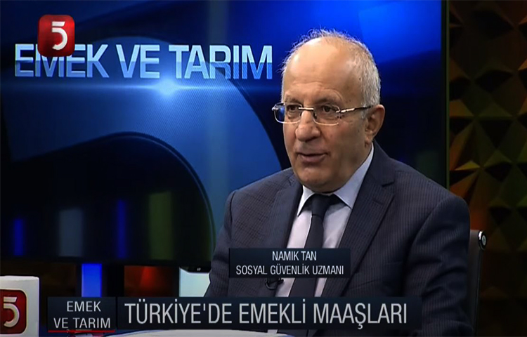 TÜED Arge Müdürü Namık Tan TV5'de Sosyal Güvenlik Sistemine Dair Açıklamalar Yaptı